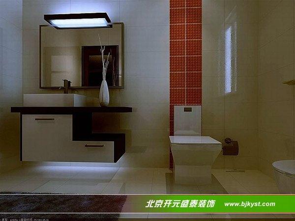 最新洗手间装修效果图